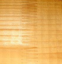 Konstruktionsvollholz für den Bau von Carports