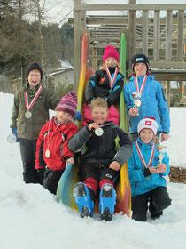 Kategoriensieger Skirennen