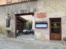 restaurante la villa santillana del mar