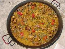 Paella alicantina receta