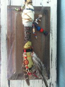Indian Talking Stick / Praatstok