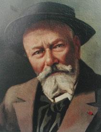 Portrait par son fils Jean-Lou
