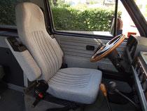 ISRI Pilotsitz/ Fahrersitz, grau