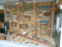 Holzschilder Muster