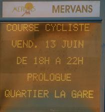 Route de Saône et Loire