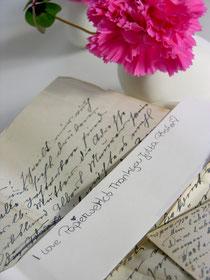 Liebesbrief ans papierwerk