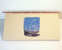 Couverture du livre Mer, de Yannick Charon
