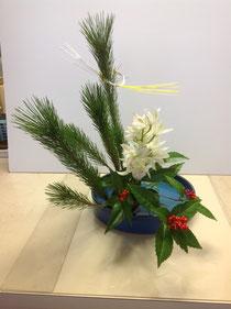 2013 お正月のお花