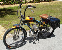 Gas & Electric Combo Motorized Bike
