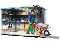 Schnellbau Container