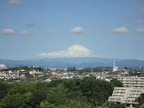 病棟からみえた富士山