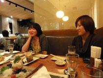 (左)久米先生(右)佐藤先生