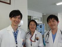 (左)飯塚先生と
