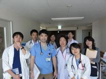 前列左から所先生・中野先生、私と神戸先生