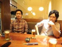 (左)水野先生 と (右)稲垣先生