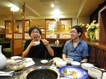 宮本(雄)先生と西野先生