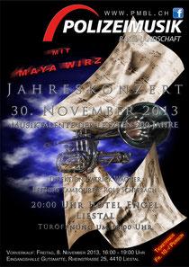 Titelseite zum Jahresprogramm 2013