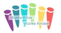 Logo Bunte Kitas; Quelle: bunte-kitas.de
