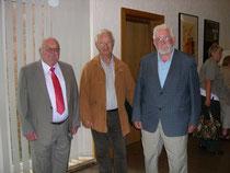 vl. Günter Bohne.Dieter Pohl und Alfred Grabe