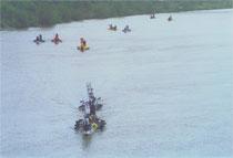 2004, Ersten Renn - Sauwetter