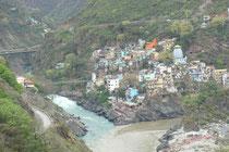 Im Himalaya. Von Rishikesh nach Pauri