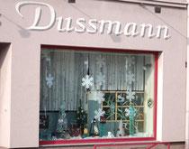 Schaufenster Glas Dussmann