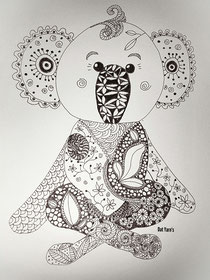 Koala Zentangl