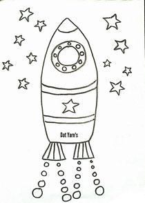Rakete - auf zu den Sternen