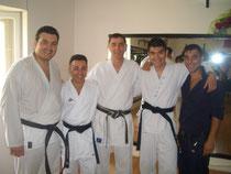 Dario,Vincenzo, il Maestro, Antonio e Ciro