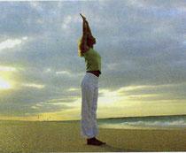 Saludo al sol (ejercicios de yoga)