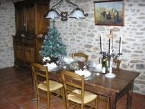 Une belle table de Noel