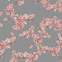 BIO-BW Softsweat Kirschblüten grau