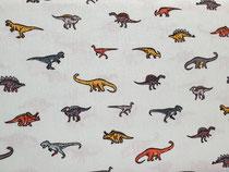 Dinos auf mint 100%  Baumwolle Öko-Tex-Standard