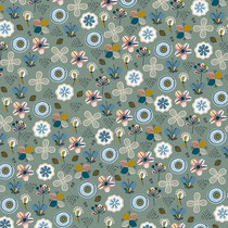 BIO-BW Softsweat Blumen mint