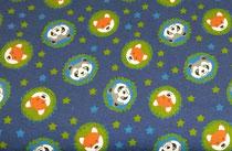 Jersey Pandas/Füchse dunkelblau