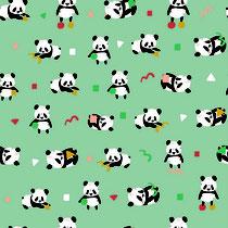 BIO-BW Jersey Pandas mint