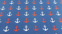 Jersey Anker royalblau/rot/weiß