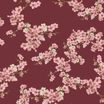 BIO-BW Softsweat Kirschblüten rot