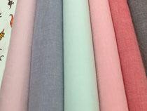Garngewebte Popeline 100%  Baumwolle Öko-Tex-Standard