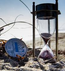 Litecoin Sanduhr Langfristiges Halten Kryptowährungen Ivestmentstrategien