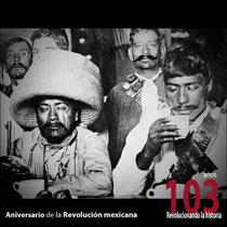 Revolucionarios en la calle de Plateros