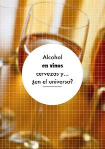 Alcohol en vinos, cervezas y... ¿en el universo?