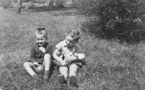 Angelika und Stephan 1954