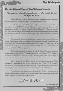 Presentacion Libro 2010