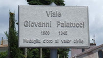 Er zijn in Italië straten en parken naar Palatucci genoemd