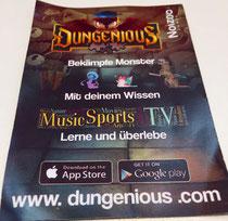 Dungenious-Flyer