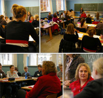 Kerstin Tack in der Ricarda-Huch-Schule