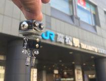 高松駅に久々に降りたったカクボー