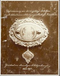 Plakette zum 250-jährigen Bestehen 1914