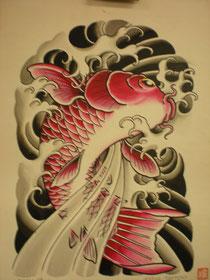 Tattoomotiv Horiyoshi III
